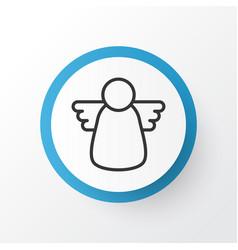 Christmas angel icon symbol premium quality vector