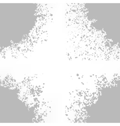Grey blots on white background vector