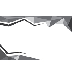 Background trangle black vector