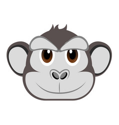 Avatar of a gorilla vector