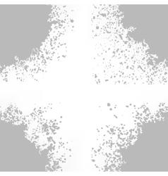 Grey blots on white background vector