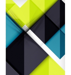 Geometric shape flat abstract background vector