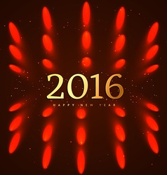 2016 happy new year design vector image vector image