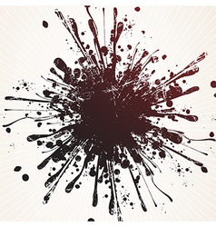 Grunge splatter background vector