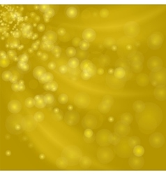 Abstract Yellow Light Background vector image vector image