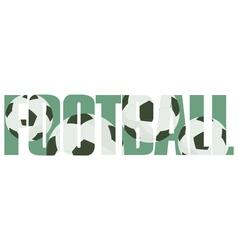 Football sign vector