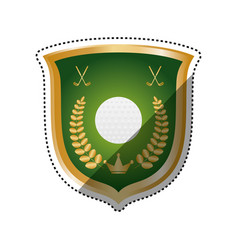 Golf game sport vector