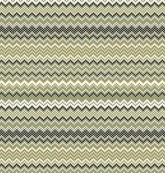 Seamless vintage pattern of thin zigzag chevron on vector image