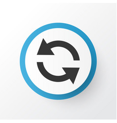 Sync icon symbol premium quality isolated vector