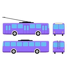 Trolleybus vector