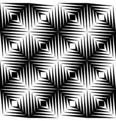 Black and white jagged edge seamless pattern vector