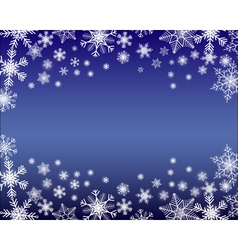 Simple winter background vector