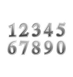 Metal number vector