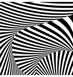 Design monochrome convex movement background vector