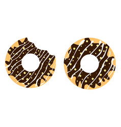 donuts4 vector image vector image