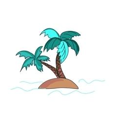 Doodle palms vector