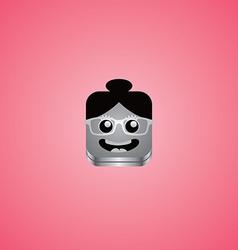 Girl avatar portrait vector
