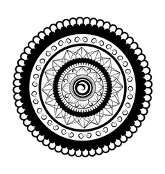 Mandala For Painting vector image