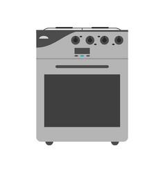 Oven stove icon image vector