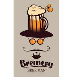 Beer men vector