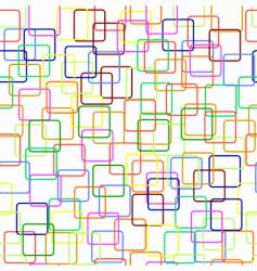 Rectangles background vector
