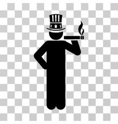 Capitalist Icon vector image