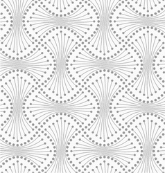 Dotted spools with lines vector