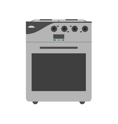 oven stove icon image vector image vector image