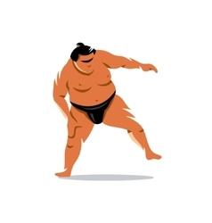 Sumo cartoon vector