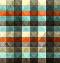 Vintage grunge triangle seamless vector