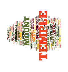 The doomsday factor text background word cloud vector
