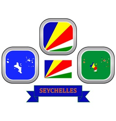 Symbol of seychelles vector