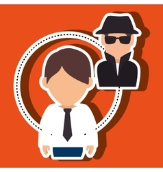 Character secure protection vector