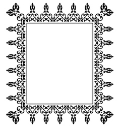 Frame lace vector