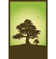 nature scene vector image vector image