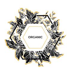 Template organic vector