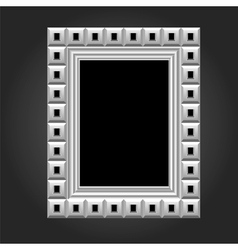 Frame in white color for your design vector
