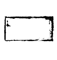 Dirty stamp vector