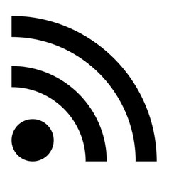 News line sign the black color icon vector