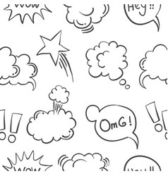 Text balloon collection vector