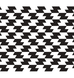 Black white abstract geometric seamless pattern vector