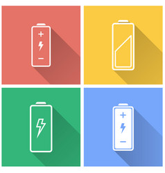 Battery - icon vector