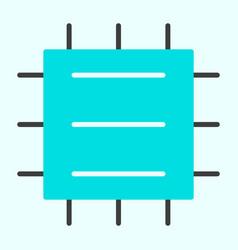 central processor unit icon cpu minimal pictogram vector image