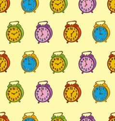 Clocks Seamless Pattern vector image