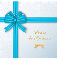 greeting present card template vector image vector image