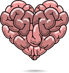 Love and wisdom symbol vector