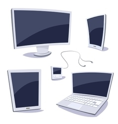 Set of devices vector image