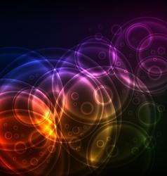 Shiny Circles technology vector image