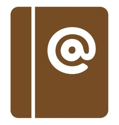 Emails icon from business bicolor set vector