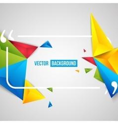 Color motivation quote vector